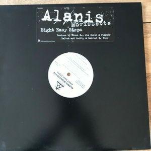 """Alanis Morissette Eight Easy Steps DJ Promo 12"""""""